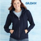 Gildan Ladie's Hooded Sweatshirt
