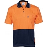 3845 Hi-Vis Safety Polo Shirt