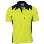 3893 Hi-Vis Safety Polo Shirt