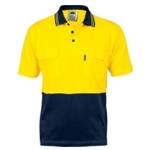 3943 Hi-Vis Safety Polo Shirt