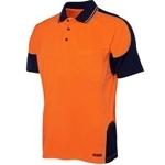 6HCP4 Hi-Vis Safety Polo Shirt