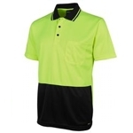 6HJNC Hi-Vis Safety Polo Shirt