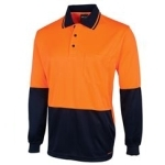 6HJNL Hi-Vis Safety Polo Shirt