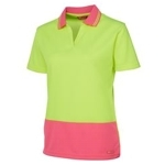 6HNB1 Hi-Vis Safety Polo Shirt