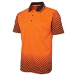 6HVNS Hi-Vis Safety Polo Shirt