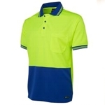 6HVPS Hi-Vis Safety Polo Shirt