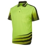 6HVR Hi-Vis Safety Polo Shirt