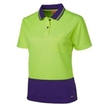6LHCP Hi-Vis Safety Polo Shirt