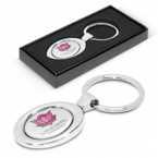 Oval Metal Key Ring