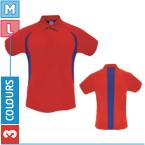 Contrast Panels Polo Shirt