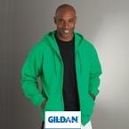 Gildan Full Zip Hooded Sweatshirt