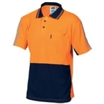 3755 Hi-Vis Safety Polo Shirt