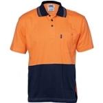3845 Hi-Vis Safety Polo Shirt