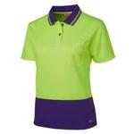 6LHCP Hi-Vis Safety Polo Shirt